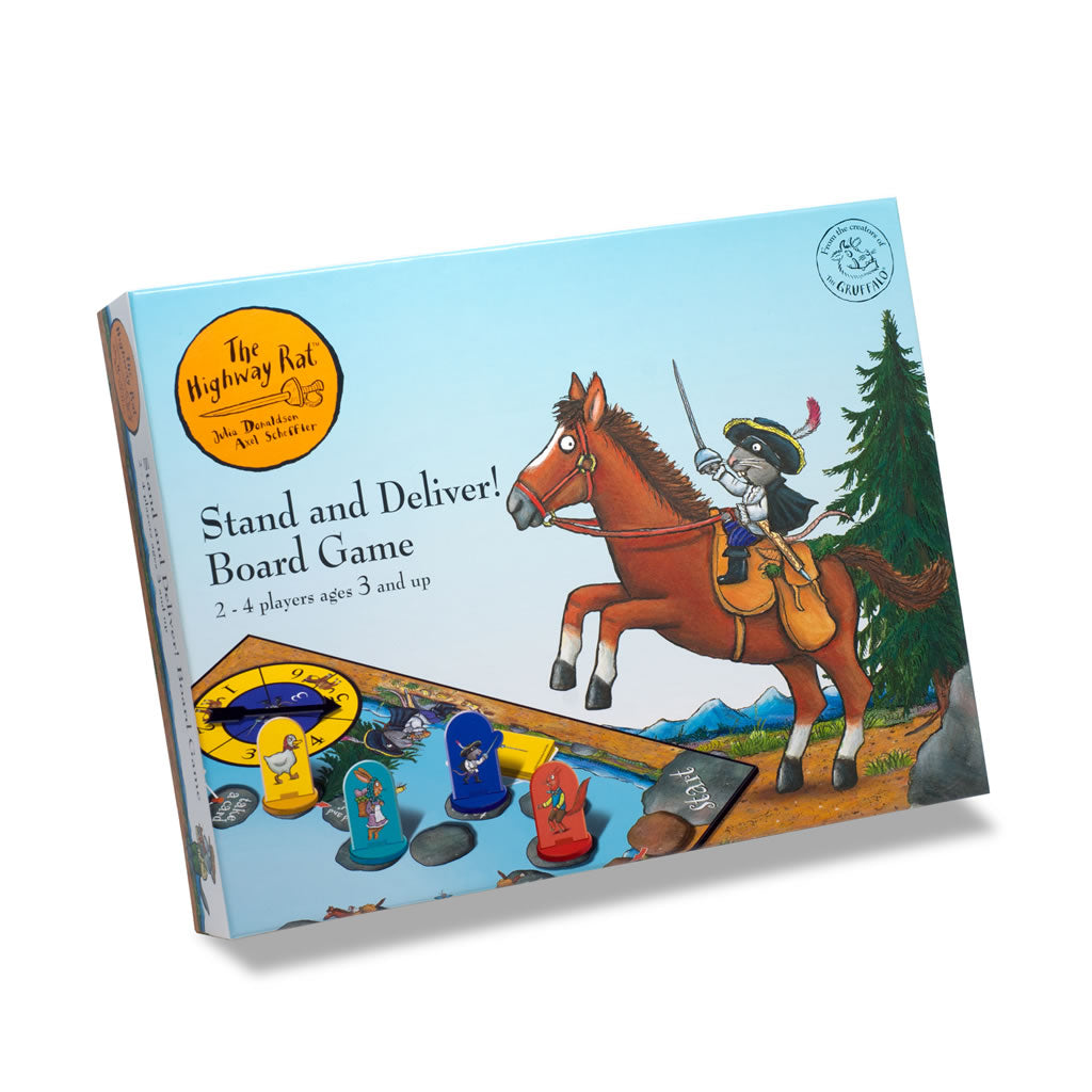 Highway Rat Stand and Deliver Board Game  Toy