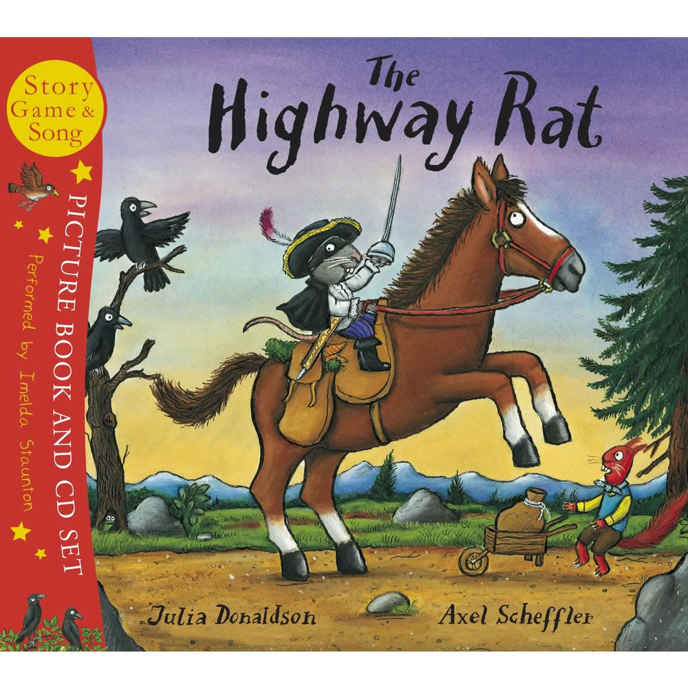 The Highwat Rat Book and CD Boxset  Book