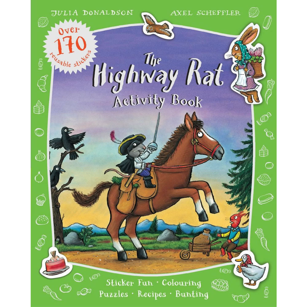 The Highway Rat Activity Book Book