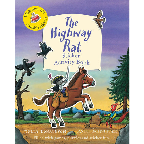The Highway Rat Sticker Book Book
