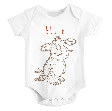 Gruffalo's Child Personalised Baby Grow