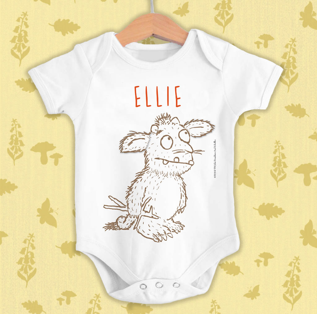Gruffalo's Child Personalised Baby Grow (Lifestyle)