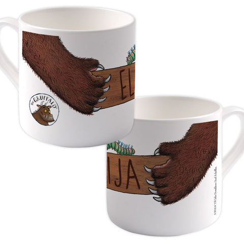 Gruffalo  Personalised Large Bone China Mug