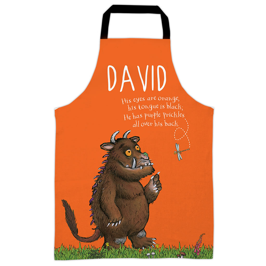 Orange Gruffalo  Personalised Apron