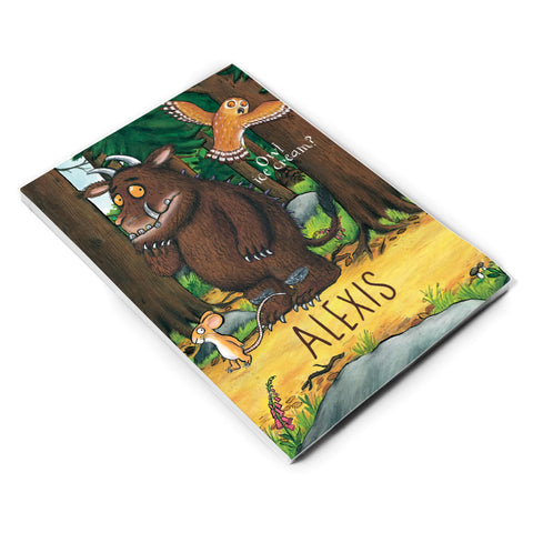 The Gruffalo - Personalised A5 Notepads