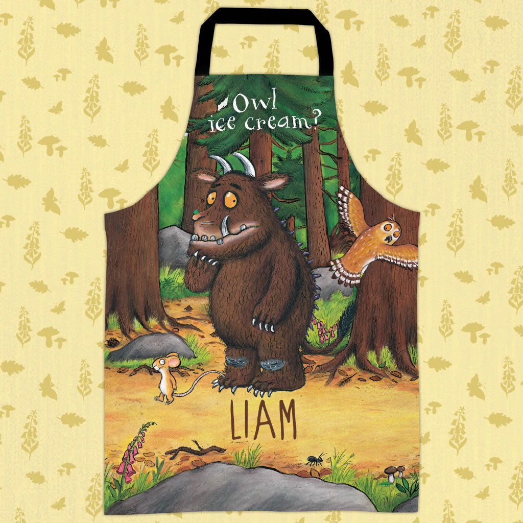 Deep Dark Wood  Personalised Apron (Lifestyle)
