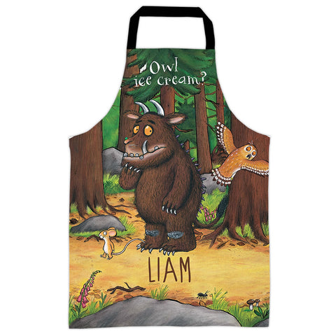 Deep Dark Wood  Personalised Apron