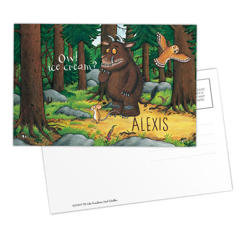 The Gruffalo - Personalised Postcards