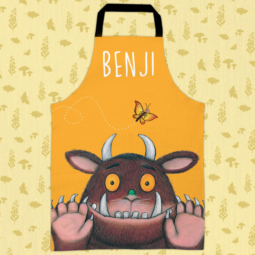 Yellow Gruffalo Personalised Apron (Lifestyle)