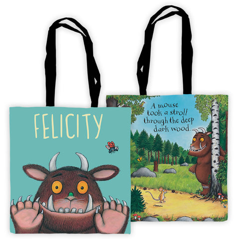 GRUFFALO PERSONALISED KIDS BACK PACK RUCK SACK