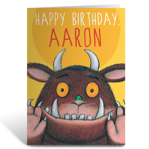 The Gruffalo Personalised Greeting Cards