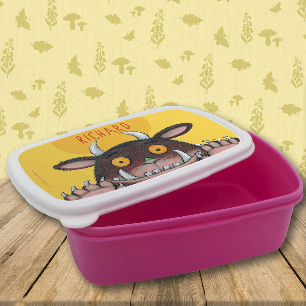 Gruffalo Personalised Lunch Box
