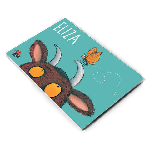 Gruffalo and Butterfly Personalised A5 Notepad