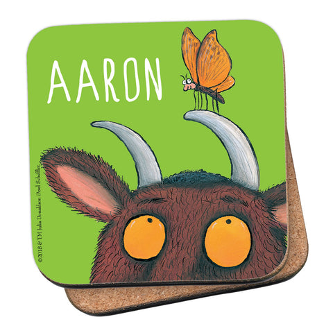 Green Gruffalo Personalised Coaster