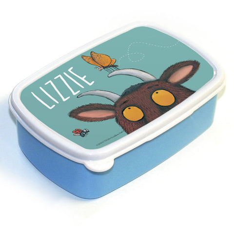 Gruffalo and Butterfly Personalised Lunch Box