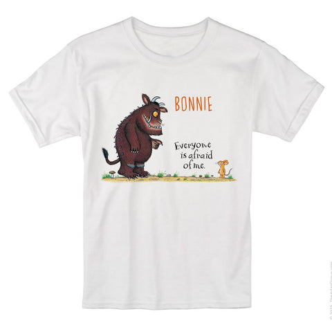 Gruffalo and Mouse Personalised T-shirt