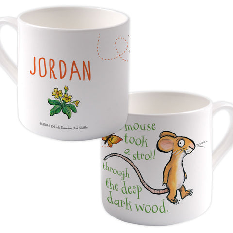 Mouse  Personalised Large Bone China Mug
