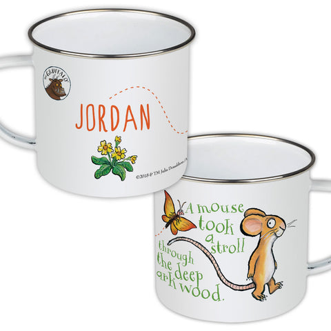 Mouse Personalised Enamel Mug
