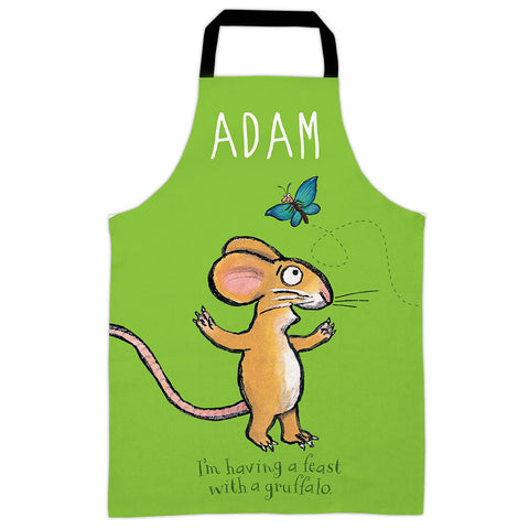 Green Mouse  Personalised Apron