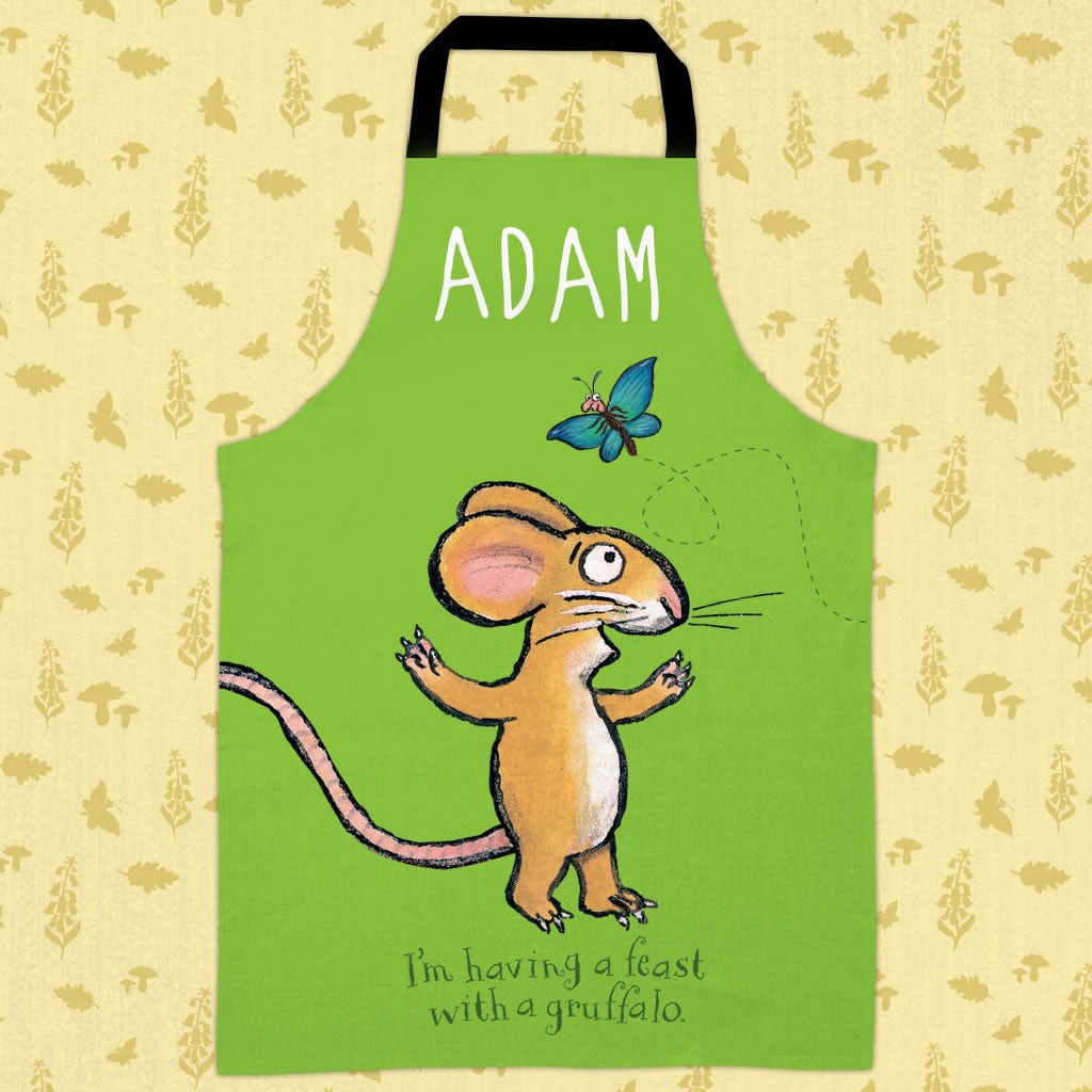Green Mouse  Personalised Apron (Lifestyle)