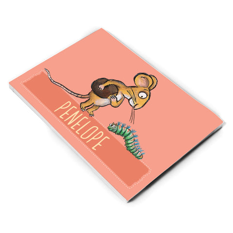 Pink Mouse Personalised A5 Notepad
