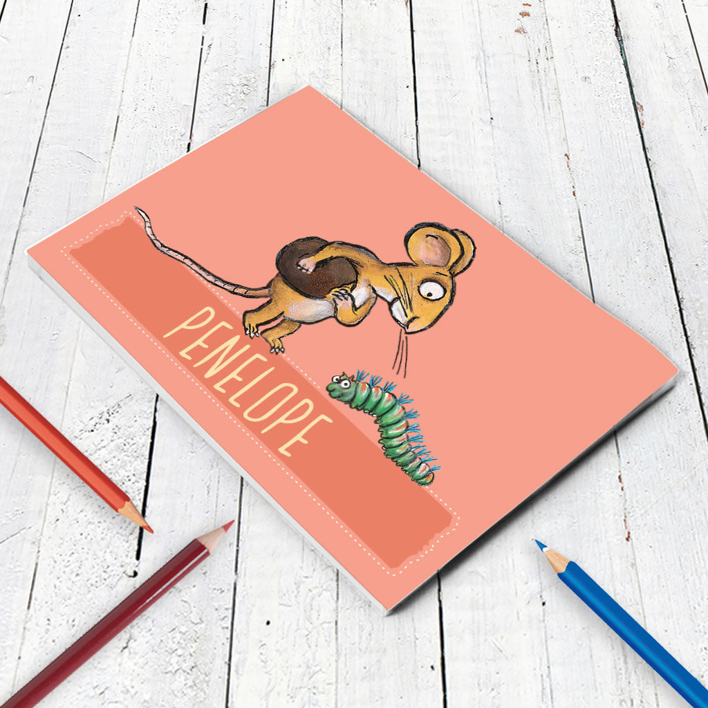 Pink Mouse Personalised A5 Notepad (Lifestyle)
