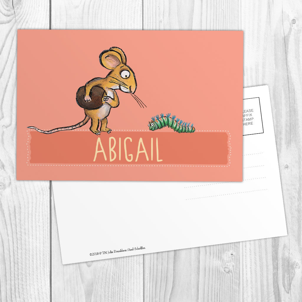 Pink Mouse Personalised Postcard (Lifestyle)