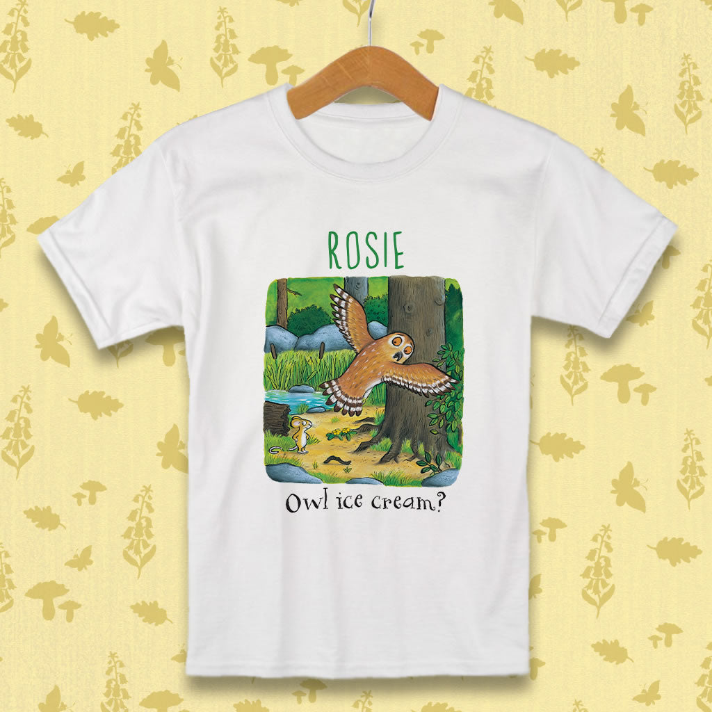 Owl Personalised T-shirt