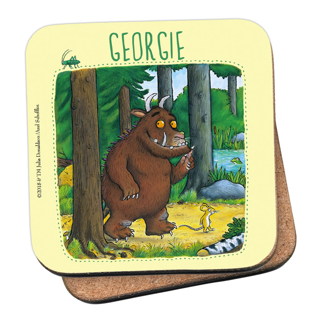 Gruffalo Personalised Coaster