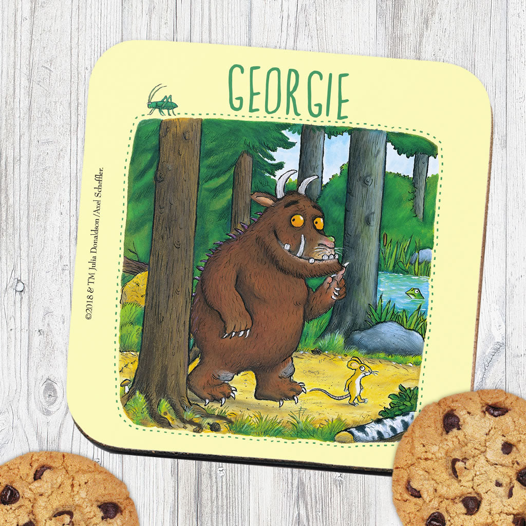 Gruffalo Personalised Coaster (Lifestyle)