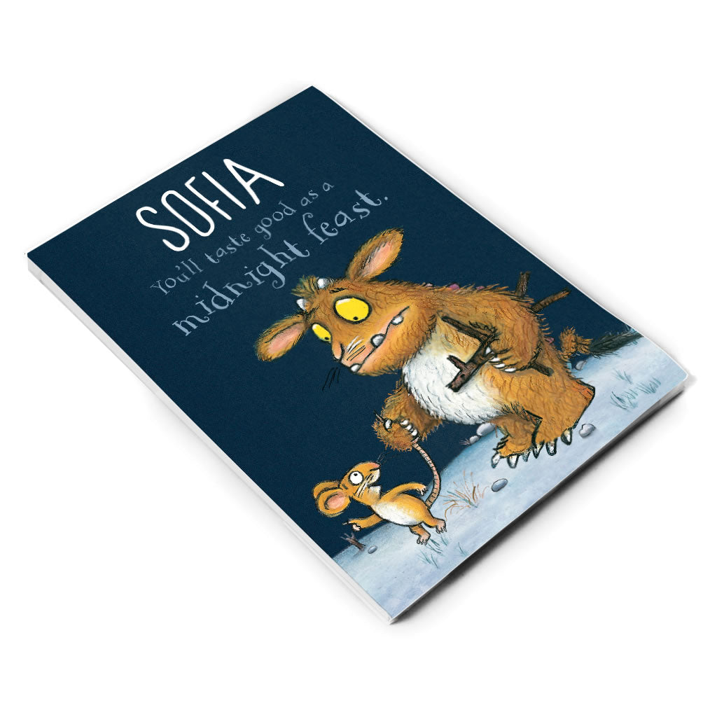 Gruffalo's Child Personalised A5 Notepad
