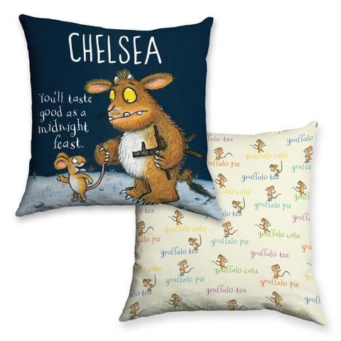 Gruffalo's Child Personalised Cushion
