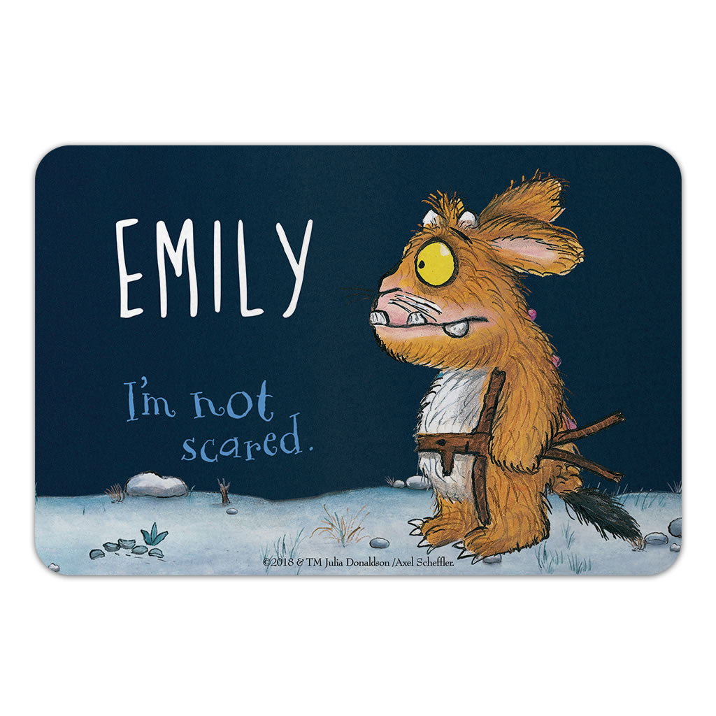 Personalised Gruffalo's Child Personalised Door Plaque