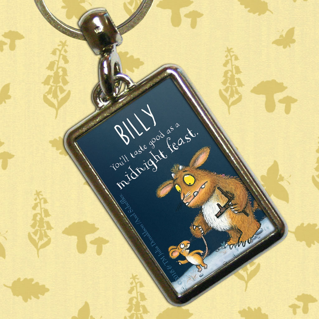 Gruffalo's Child Personalised Metal Keyring (Lifestyle)
