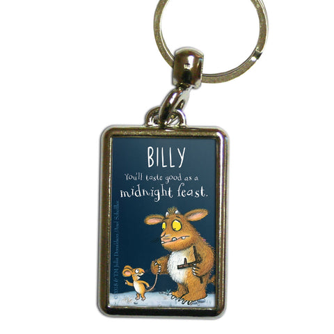 Gruffalo's Child Personalised Metal Keyring