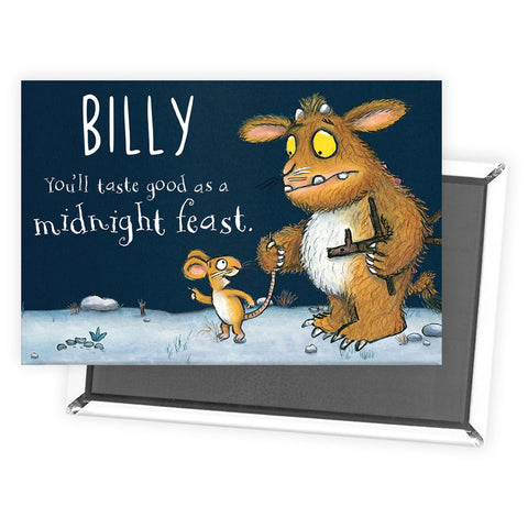 Gruffalo's Child Personalised Magnet