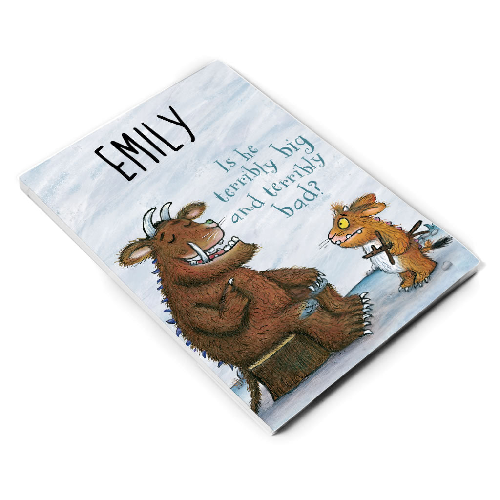 Gruffalo Family Personalised A5 Notepad