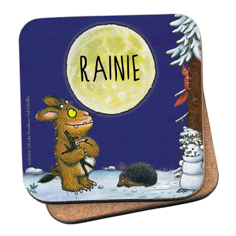 Gruffalo's Child Personalised Coaster