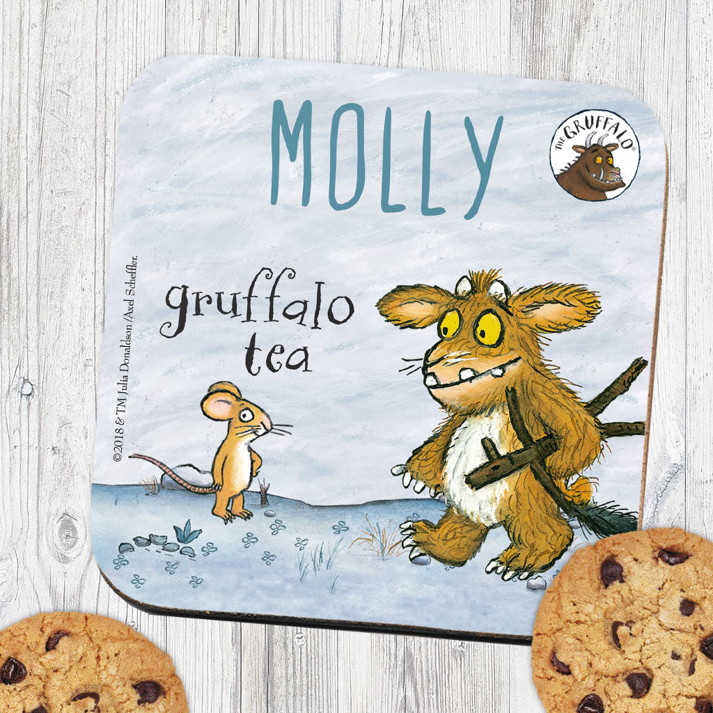 Gruffalo's Child and Mouse Personalised Coaster (Lifestyle)