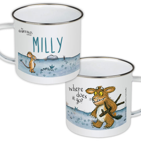 Gruffalo's Child Personalised Enamel Mug