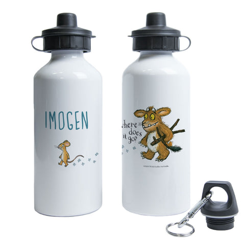 Gruffalo's Child and Mouse Walking Personalised Water Bottle