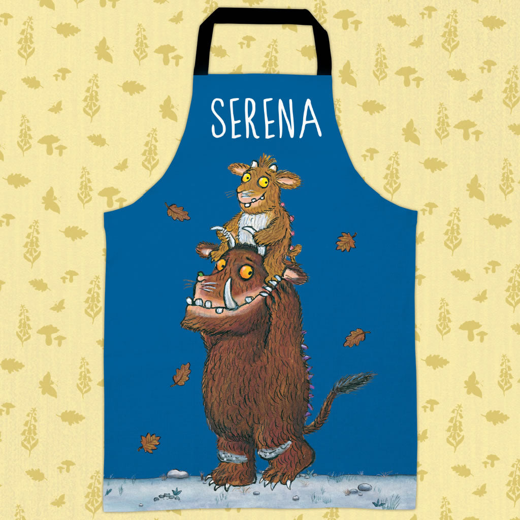 Blue Gruffalo's Child  Personalised Apron (Lifestyle)