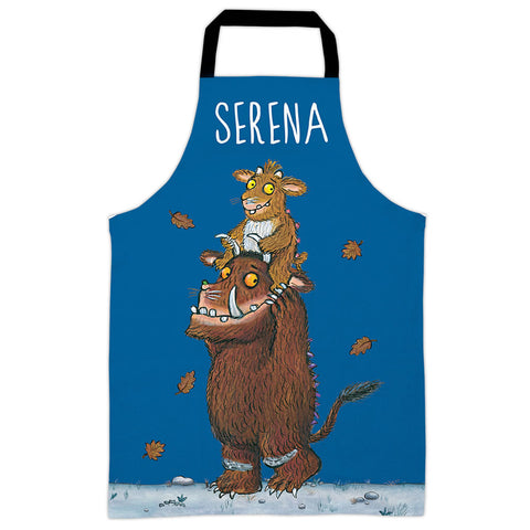Blue Gruffalo's Child  Personalised Apron