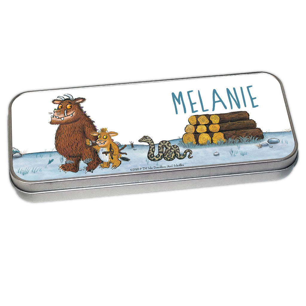 Gruffalo Family Personalised Pencil Tin