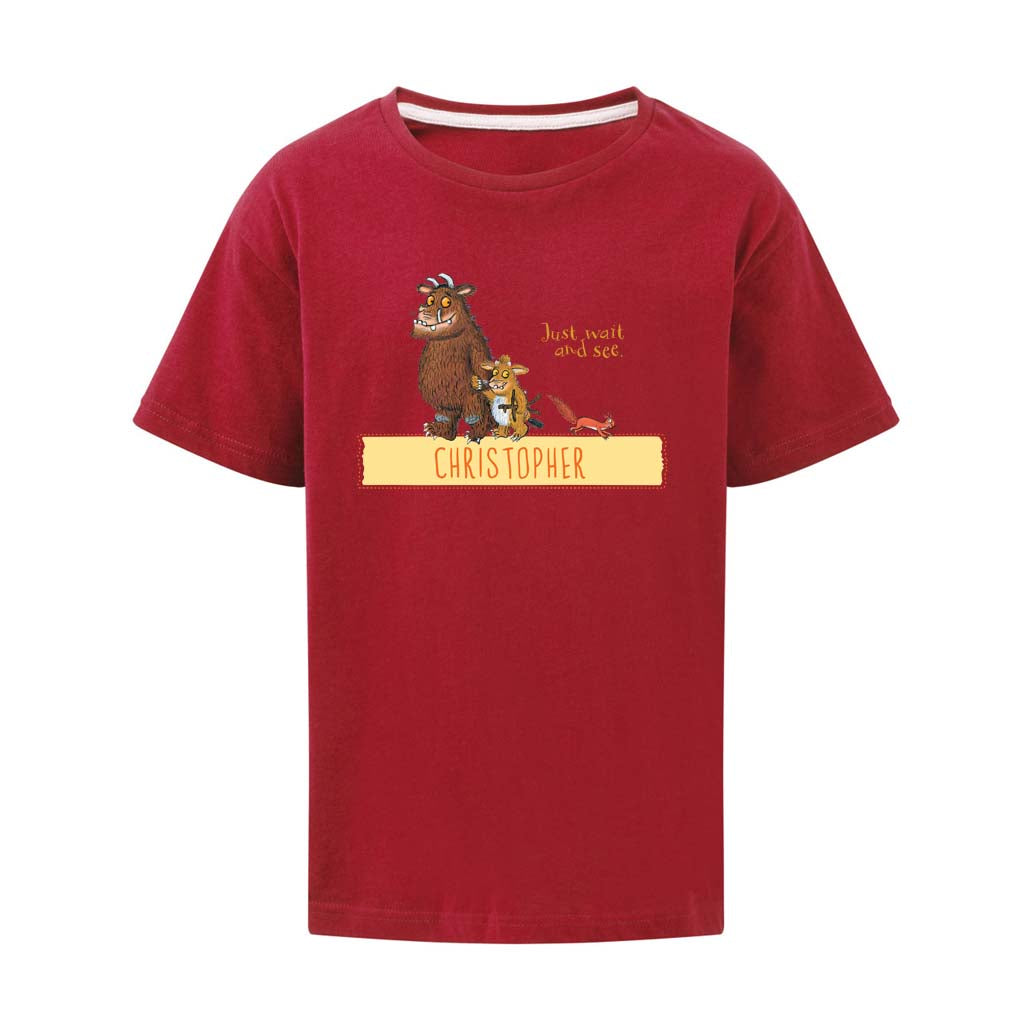 Gruffalo Family Personalised T-shirt
