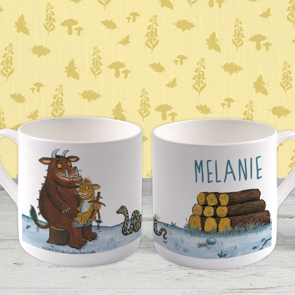 Gruffalo Family  Personalised Large Bone China Mug (Lifestyle)