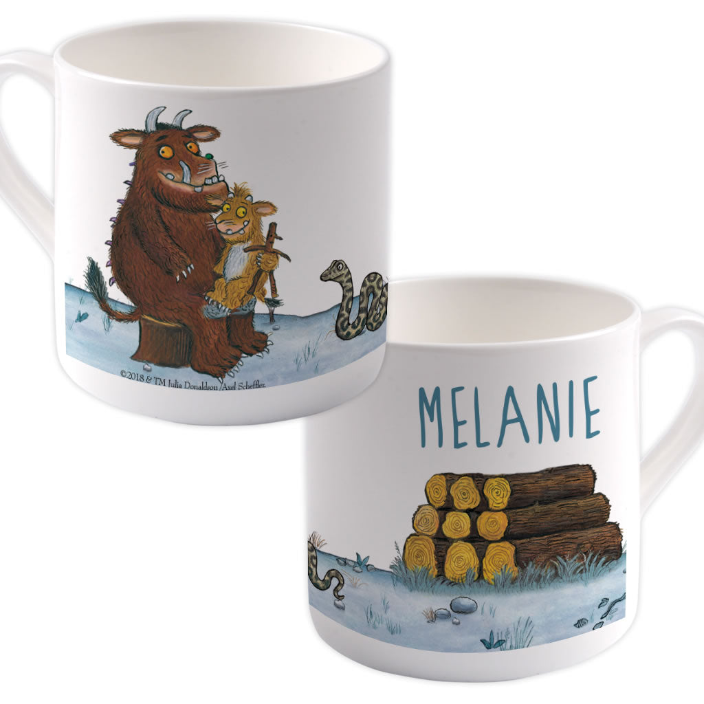 Gruffalo Family  Personalised Large Bone China Mug