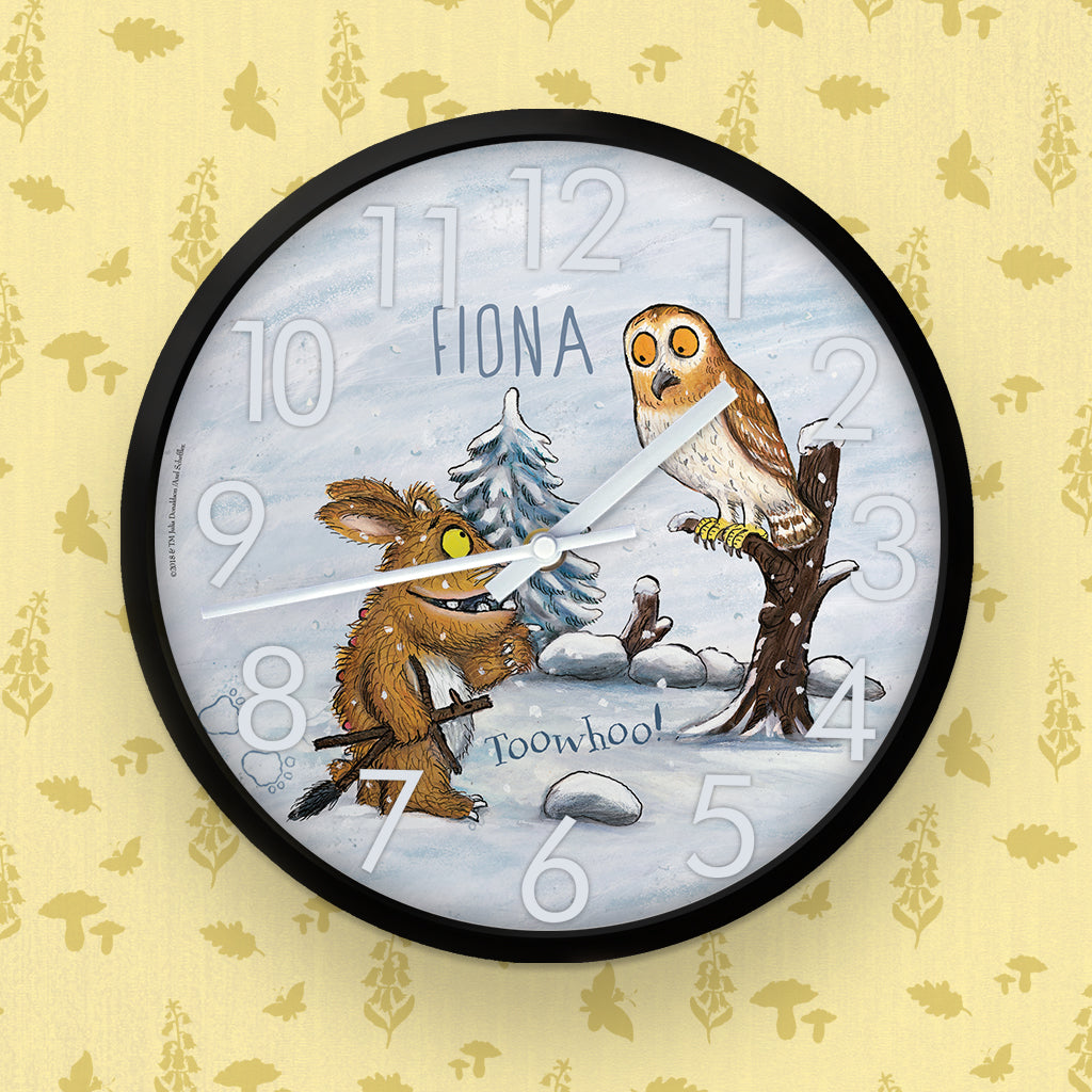 Gruffalo's Child  Personalised Clock