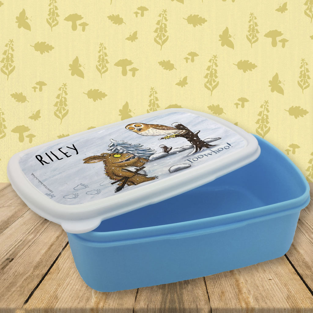 Gruffalo's Child and Owl Personalised Lunch Box