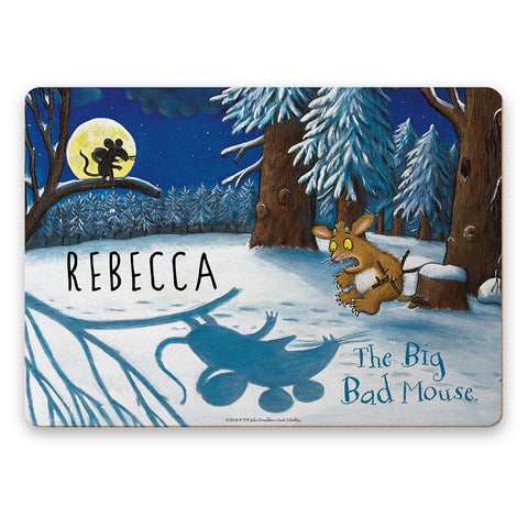 Big Bad Mouse Personalised Placemat